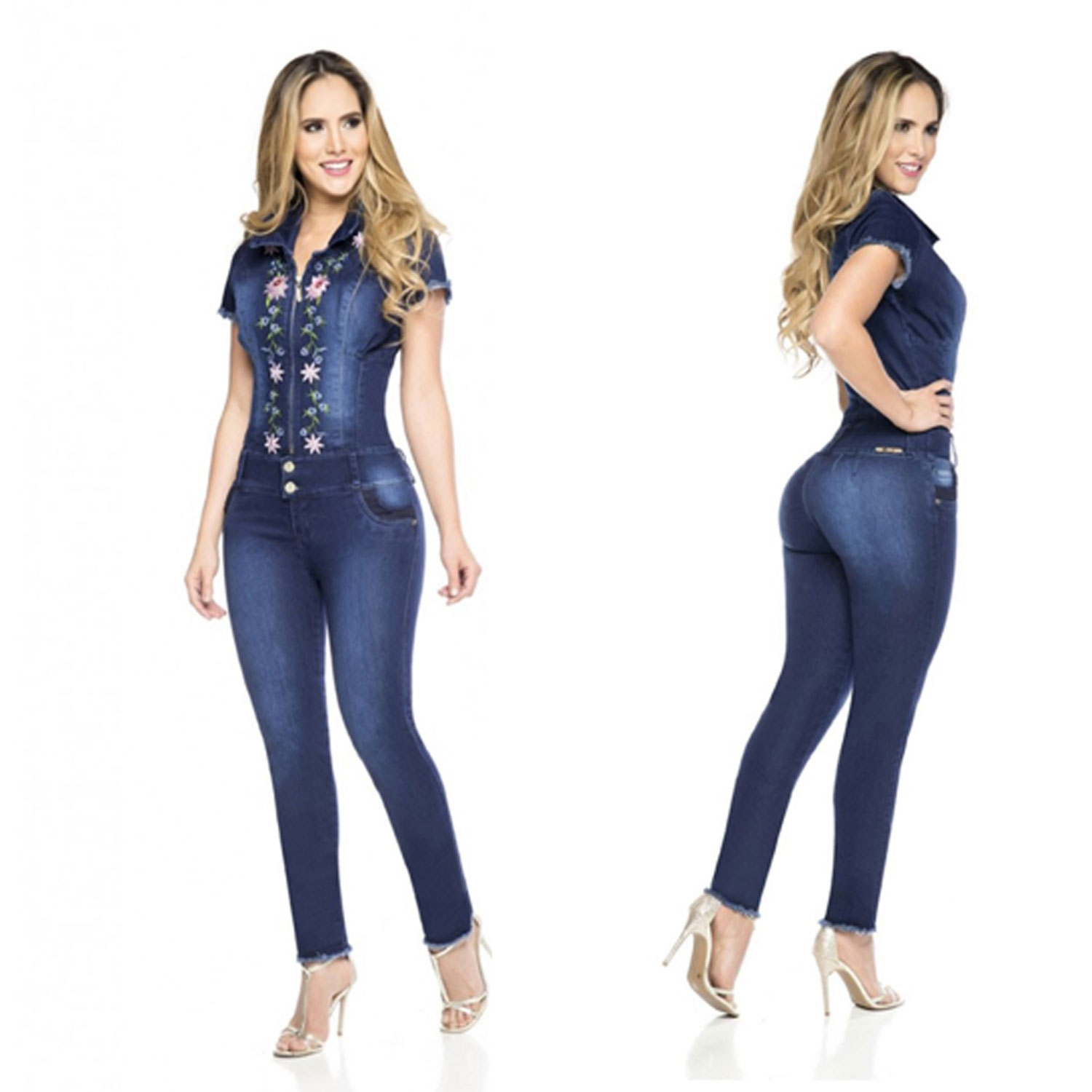Push Up Rompers Overalls Ref: 10338