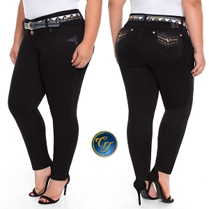 Mid/high Waisted Butt Lifting Jeans Ref: 56471