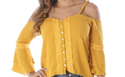 Elbow Sleeve Blouse Ref: 7475