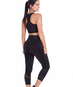 Leggings Capri Black Molding Ref. DL102