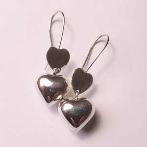 Heart Earrings Ref: EA020505