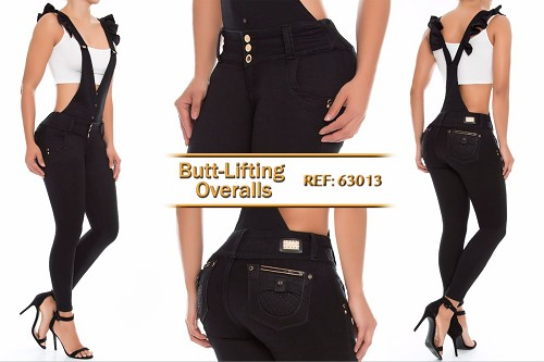 Mid/High Waisted Overalls Ref: 63013