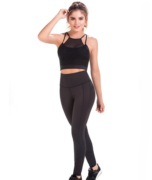 Classic Leggings with Abdominal Control and Legs and Buttock Enhancement Ref: DL100